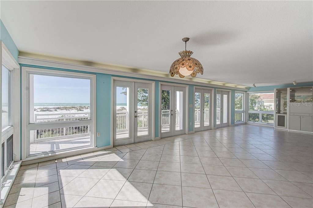 2nd Floor Living/Dining - Single Family Home for sale at 811 N Shore Dr, Anna Maria, FL 34216 - MLS Number is A4178184