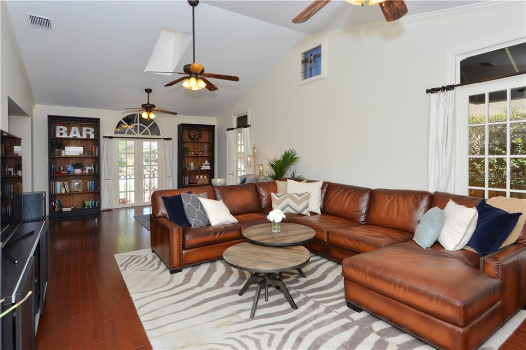 Family Room - Single Family Home for sale at 1896 Hibiscus St, Sarasota, FL 34239 - MLS Number is A4180775