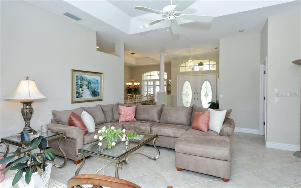 Formal Living Room - Single Family Home for sale at 605 Khyber Ln, Venice, FL 34293 - MLS Number is A4182492