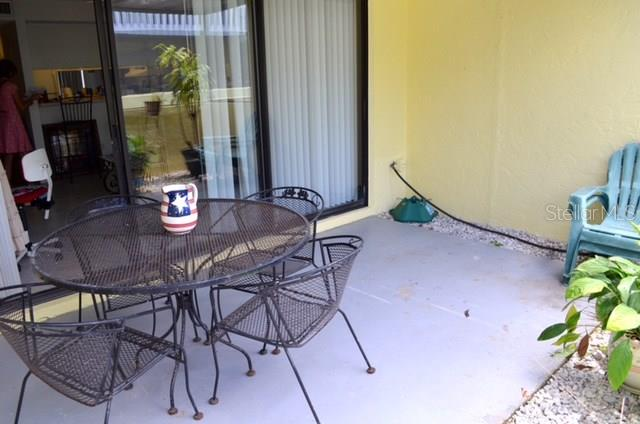 Back Patio - Condo for sale at 1749 Dawn St S #303, Sarasota, FL 34231 - MLS Number is A4186116