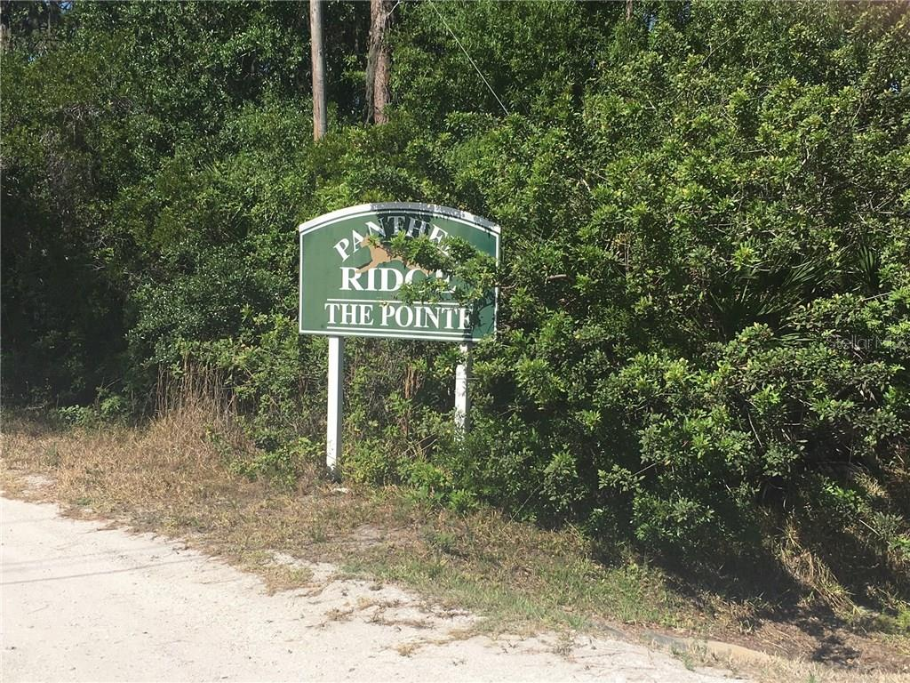 LOCATED ACROSS THE STREET FROM PANTHER RIDGE THE POINTE - Vacant Land for sale at St Rd 70, Myakka City, FL 34251 - MLS Number is A4186261