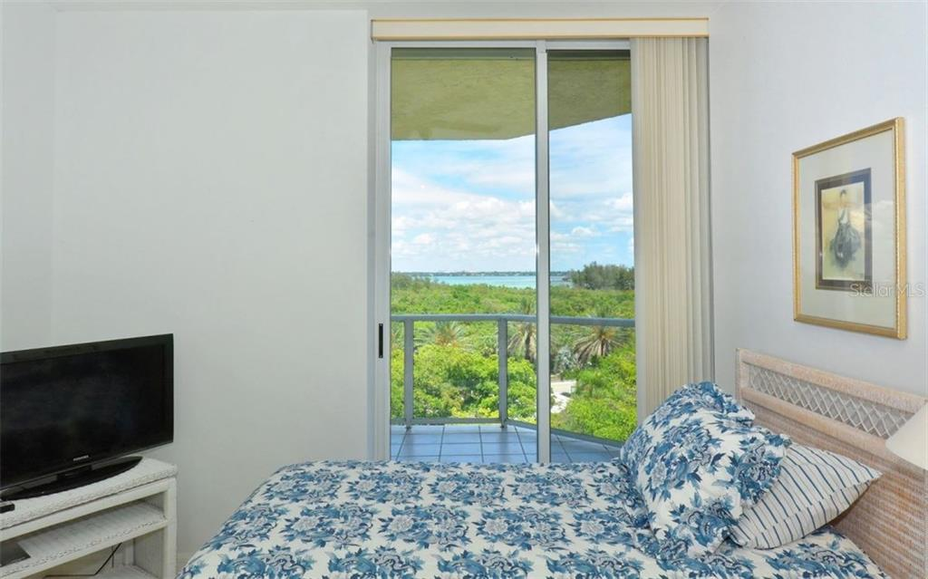 Balcony boasts over 40 feet of unobstructed Bay and city views - Condo for sale at 1800 Benjamin Franklin Dr #b507, Sarasota, FL 34236 - MLS Number is A4188540