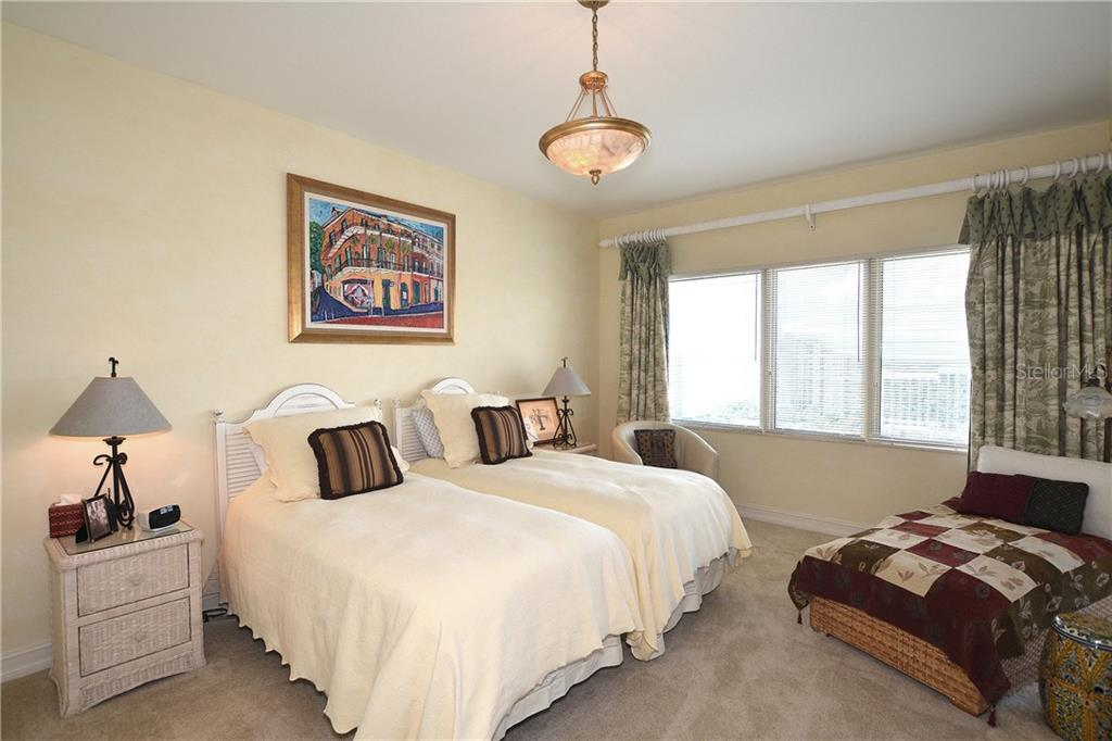 Spacious guest bedroom will welcome your many Florida guests. - Condo for sale at 1111 Ritz Carlton Dr #1505, Sarasota, FL 34236 - MLS Number is A4188921