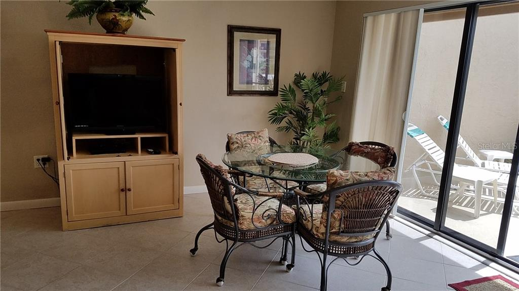Dining Area - Condo for sale at 6342 Midnight Pass Rd #232, Sarasota, FL 34242 - MLS Number is A4189282