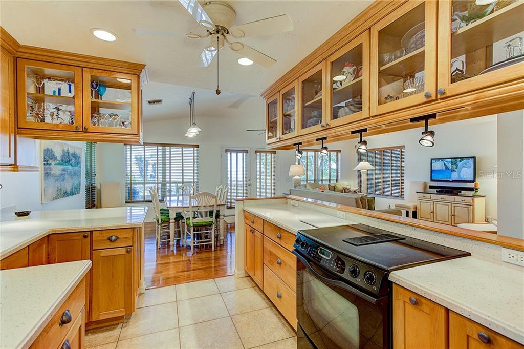 Kitchen/Dining/Living Room - Single Family Home for sale at 2502 Avenue B, Bradenton Beach, FL 34217 - MLS Number is A4191682