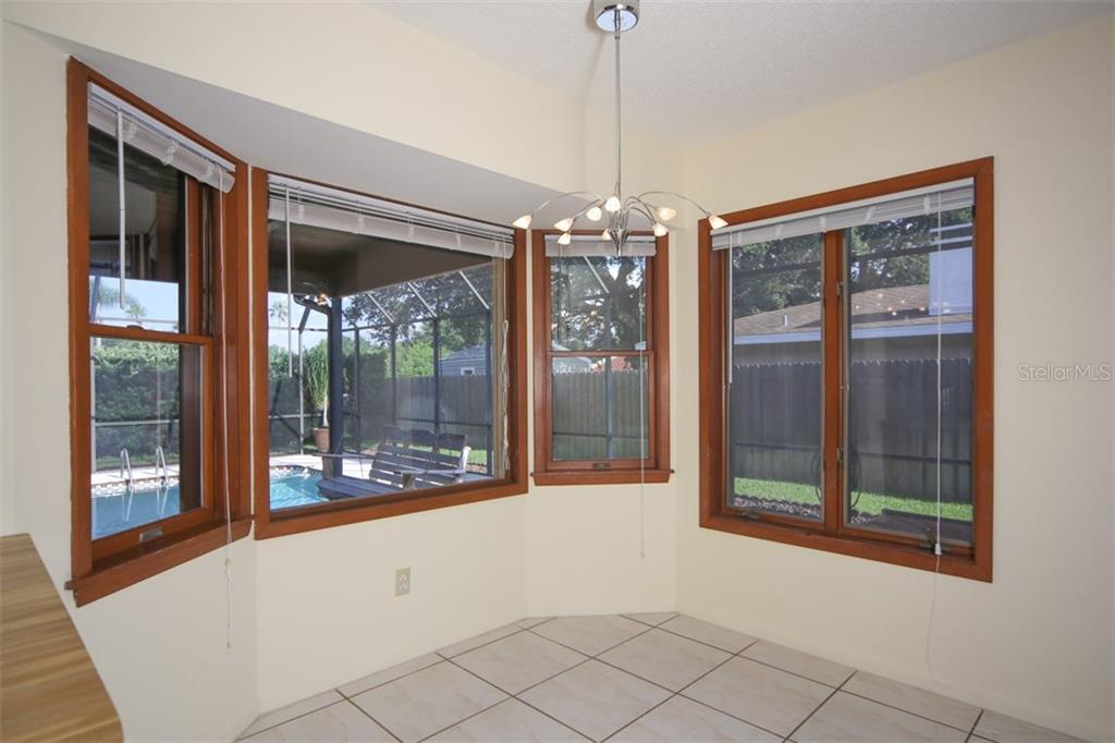Kitchen dinette area - Single Family Home for sale at 1602 54th St W, Bradenton, FL 34209 - MLS Number is A4191877