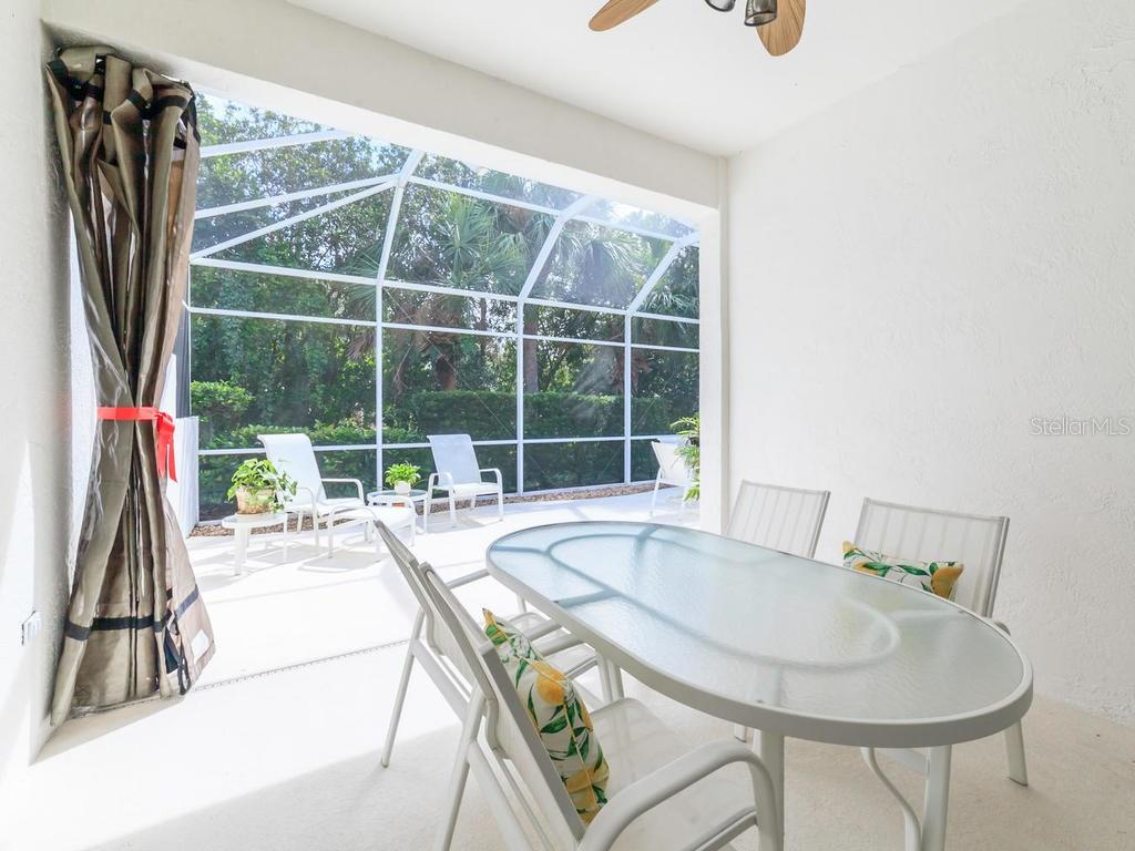 Lanai with Private Views - Villa for sale at 8773 Pebble Creek Ln, Sarasota, FL 34238 - MLS Number is A4197786