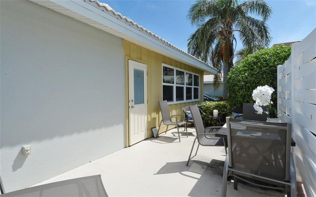 Patio - Condo for sale at 6308 Midnight Pass Rd #4, Sarasota, FL 34242 - MLS Number is A4198360