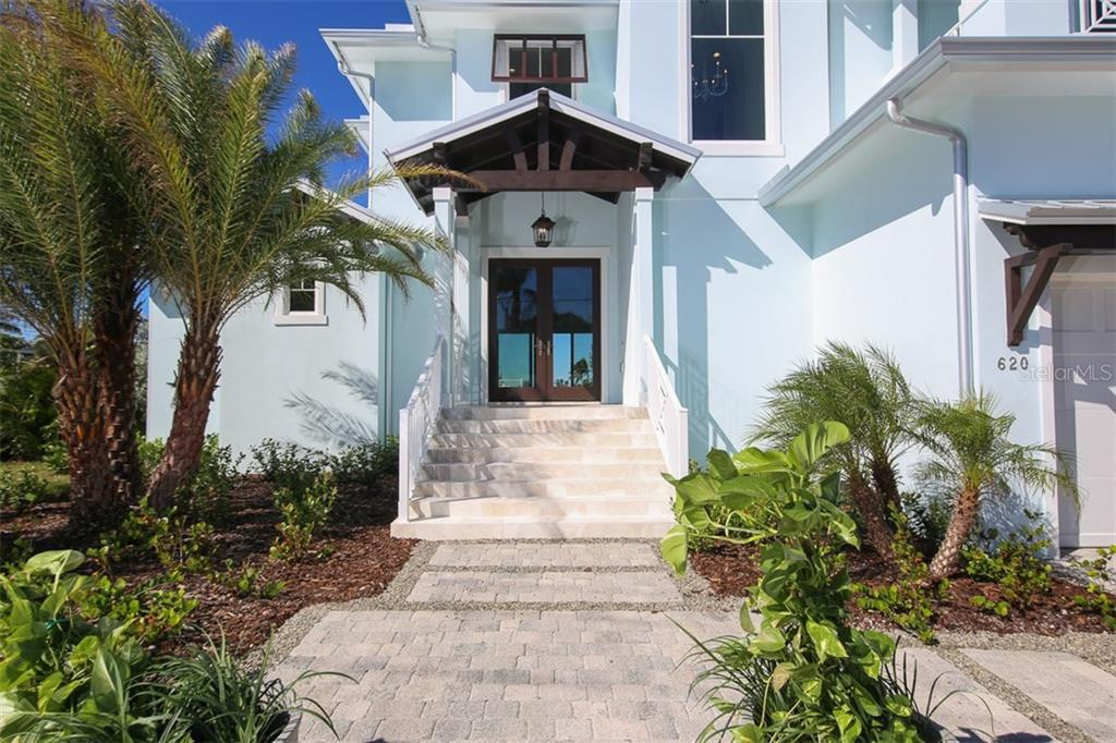 New Construction, large Key Royale home with custom features - Single Family Home for sale at 620 Key Royale Dr, Holmes Beach, FL 34217 - MLS Number is A4200888