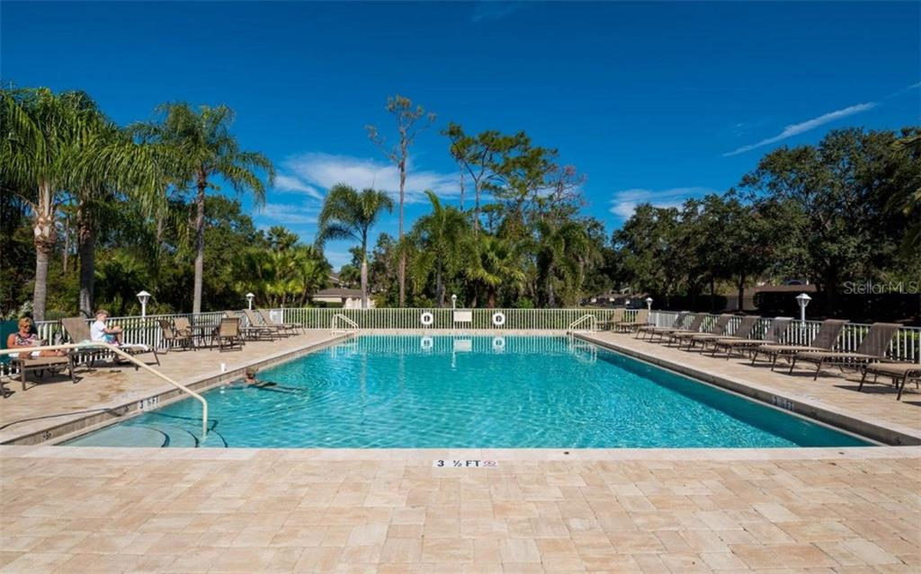 One of Five Condo Pools Available for you to Enjoy - Condo for sale at 5280 Hyland Hills Ave #1814, Sarasota, FL 34241 - MLS Number is A4202373