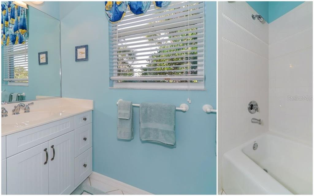 2nd Bathroom - Single Family Home for sale at 460 Otter Creek Dr, Venice, FL 34292 - MLS Number is A4205372