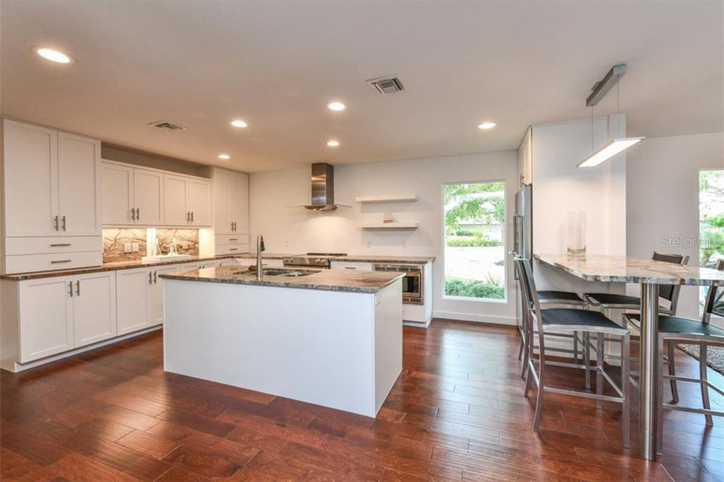 Brand new kitchen - Single Family Home for sale at 460 Pheasant Dr, Sarasota, FL 34236 - MLS Number is A4208025