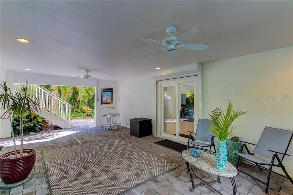 Pool Area - Single Family Home for sale at 104 43rd St, Holmes Beach, FL 34217 - MLS Number is A4209338