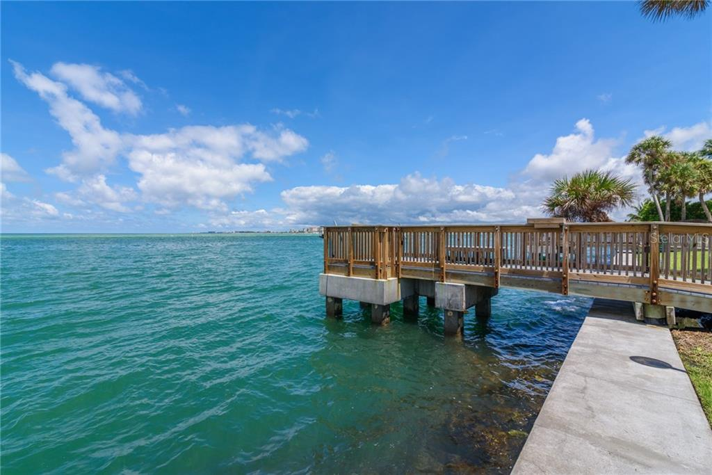 Community pier - Condo for sale at 4822 Ocean Blvd #11d, Sarasota, FL 34242 - MLS Number is A4209955