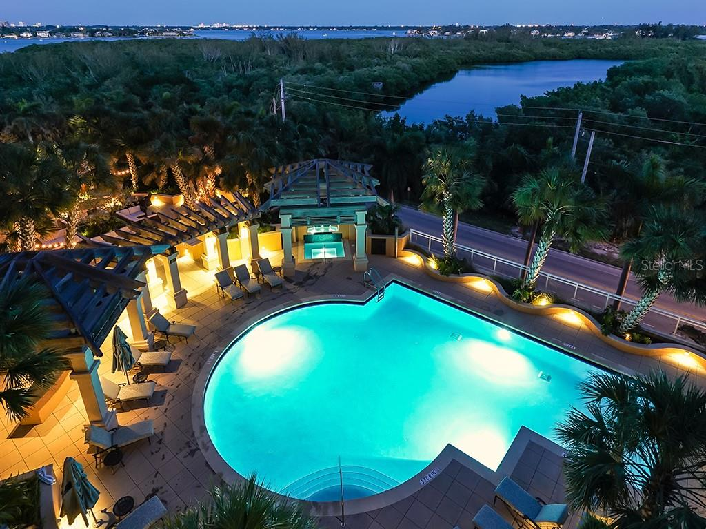 Pool - The Beach Residences - Condo for sale at 1300 Benjamin Franklin Dr #603, Sarasota, FL 34236 - MLS Number is A4213631