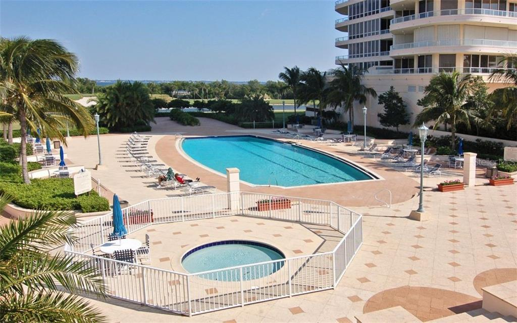 Grand Bay heated lap pool - Condo for sale at 3040 Grand Bay Blvd #252, Longboat Key, FL 34228 - MLS Number is A4402747