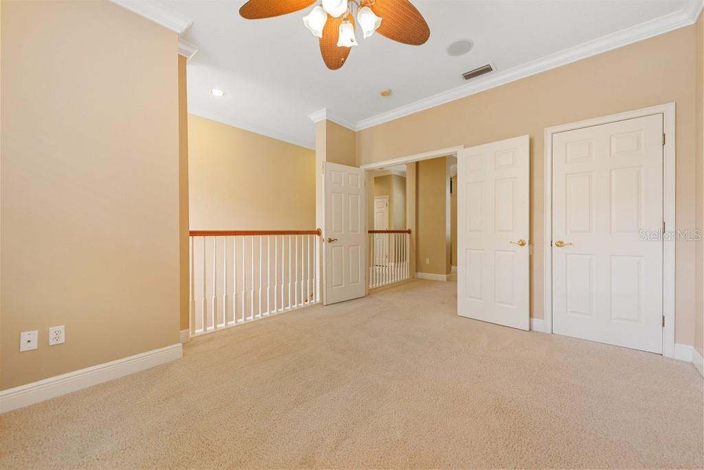 Wonderful flex room that can be extra (4th) bedroom or media room or private office.  Room has closet. - Condo for sale at 6540 Moorings Point Cir #202, Lakewood Ranch, FL 34202 - MLS Number is A4403403