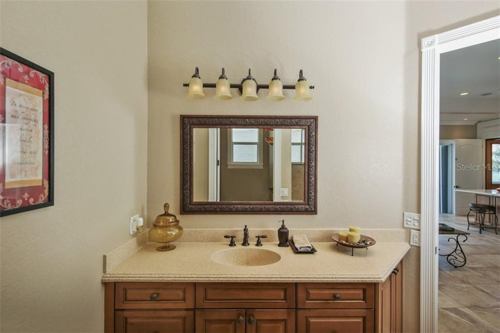 2nd floor Bathroom - Single Family Home for sale at 1778 Bayshore Dr, Englewood, FL 34223 - MLS Number is A4405962