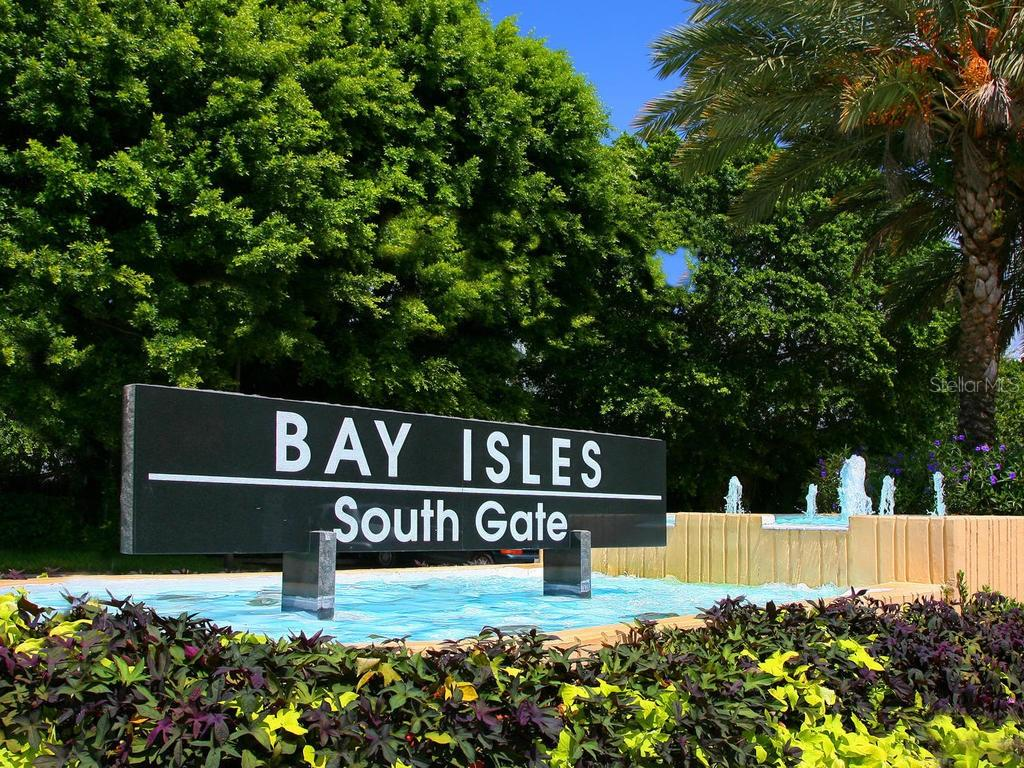 Bay Isles entrance - Condo for sale at 1912 Harbourside Dr #604, Longboat Key, FL 34228 - MLS Number is A4407777