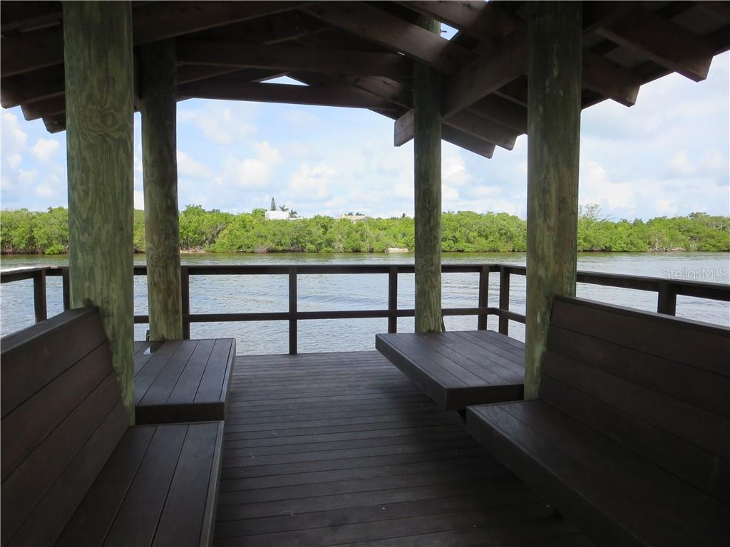 The Landings community fishing pier. - Single Family Home for sale at 1427 Cedar Bay Ln, Sarasota, FL 34231 - MLS Number is A4408881