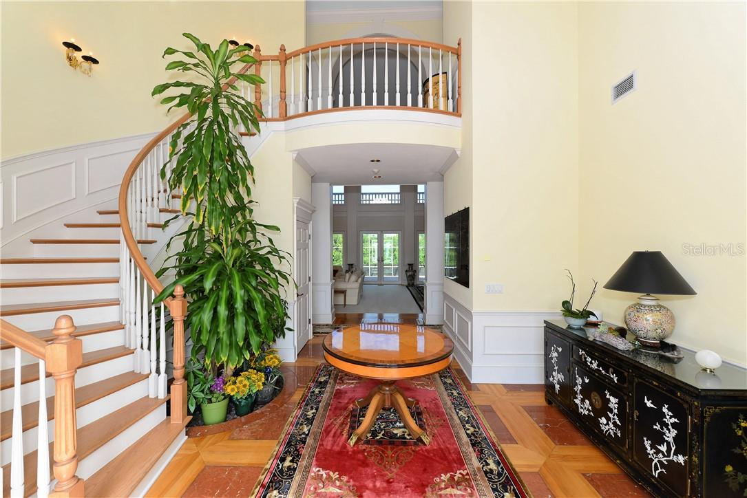 Foyer - Single Family Home for sale at 1427 Cedar Bay Ln, Sarasota, FL 34231 - MLS Number is A4408881
