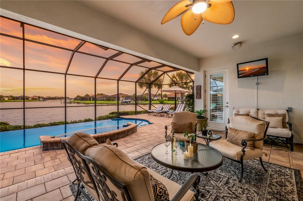Lanai/Pool Area - Single Family Home for sale at 5114 Lake Overlook Ave, Bradenton, FL 34208 - MLS Number is A4412194