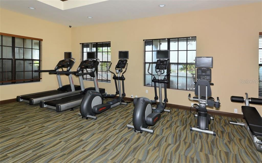 Fitness Center - Single Family Home for sale at 5114 Lake Overlook Ave, Bradenton, FL 34208 - MLS Number is A4412194