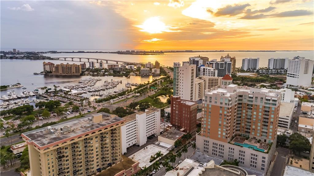 Sarasota Sunset - Condo for sale at 1350 Main St #1510, Sarasota, FL 34236 - MLS Number is A4412247