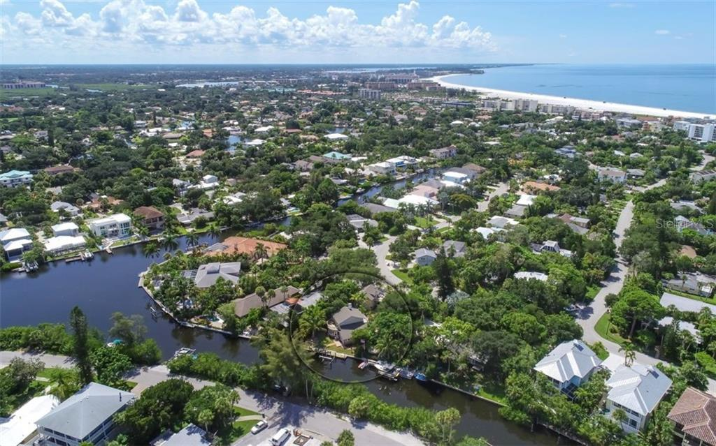 Siesta Beach is just a short walk from your front door. - Single Family Home for sale at 138 Island Cir, Sarasota, FL 34242 - MLS Number is A4412265