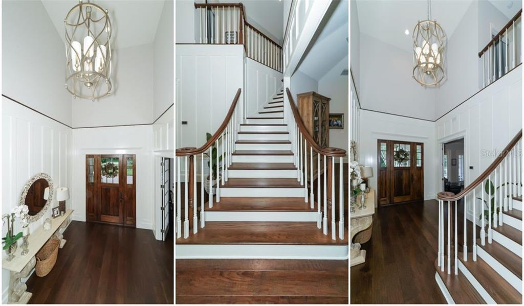 Two Story Entry Foyer - Single Family Home for sale at 3183 Dick Wilson Dr, Sarasota, FL 34240 - MLS Number is A4412326