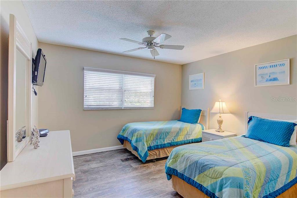 Second Bedroom - Condo for sale at 925 Beach Rd #107b, Sarasota, FL 34242 - MLS Number is A4413716
