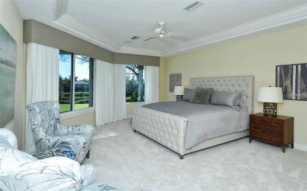 3rd bedroom - on the second floor with a private bath - could also be used as a master bedroom - Single Family Home for sale at 3529 Fair Oaks Ln, Longboat Key, FL 34228 - MLS Number is A4414992