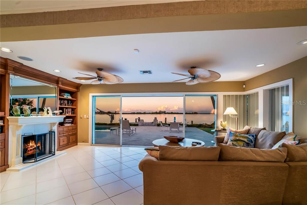 Living room view - Single Family Home for sale at 230 N Washington Dr, Sarasota, FL 34236 - MLS Number is A4415745