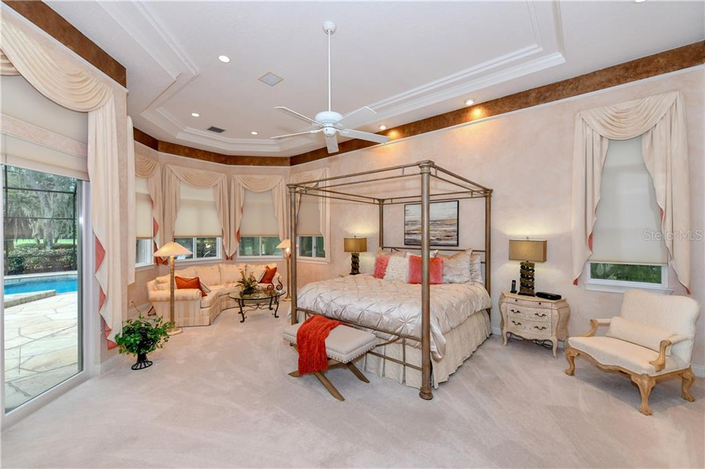 Master Bedroom - Single Family Home for sale at 7659 Alister Mackenzie Dr, Sarasota, FL 34240 - MLS Number is A4416607