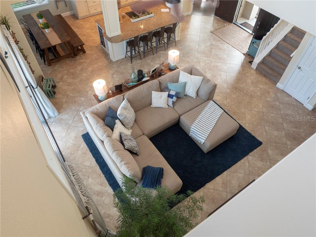 Check out the view of this gorgeous home from the upstairs hallway and bonus loft! - Single Family Home for sale at 3803 5th Ave Ne, Bradenton, FL 34208 - MLS Number is A4417524