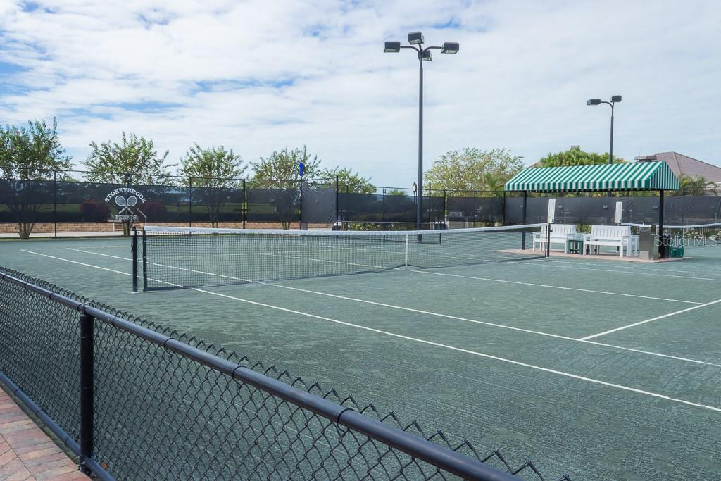 Stoneybrook Har-Tru lighted tennis courts - Condo for sale at 9620 Club South Cir #5110, Sarasota, FL 34238 - MLS Number is A4418081