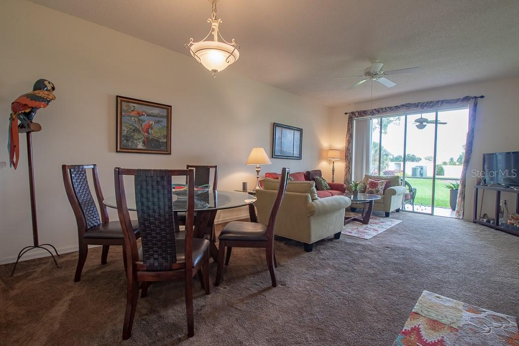 Open concept dining/living room - Condo for sale at 9620 Club South Cir #5110, Sarasota, FL 34238 - MLS Number is A4418081