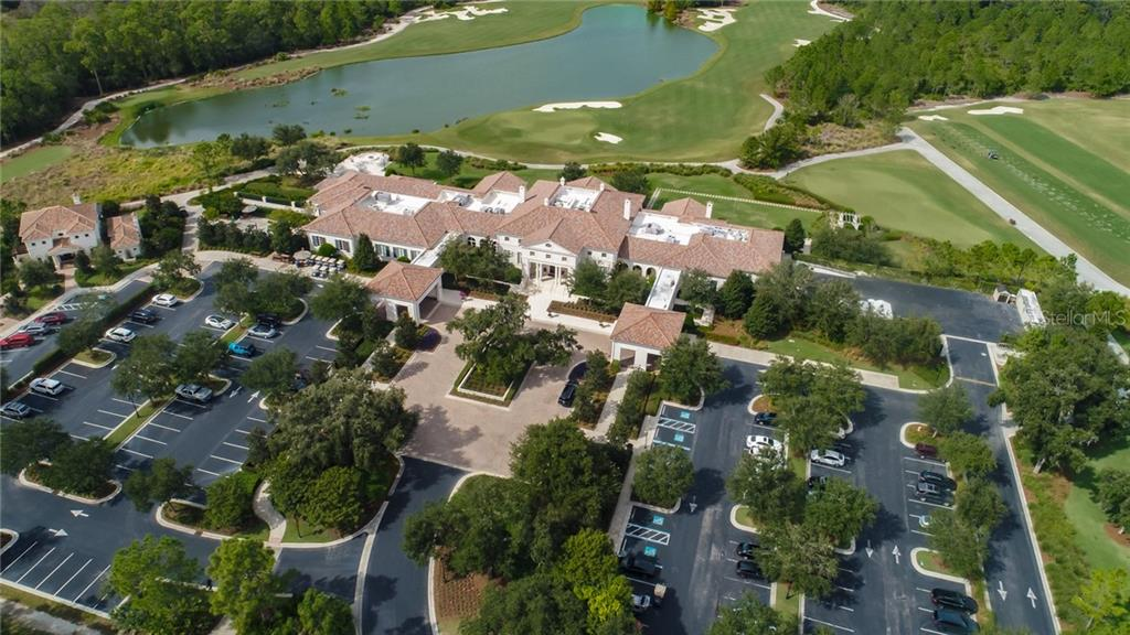 The amazing Clubhouse at The Concession Golf Club!  18th green , 10th hole and the TOUR quality range closely located - Vacant Land for sale at 8418 Broadstone Ct, Bradenton, FL 34202 - MLS Number is A4418532
