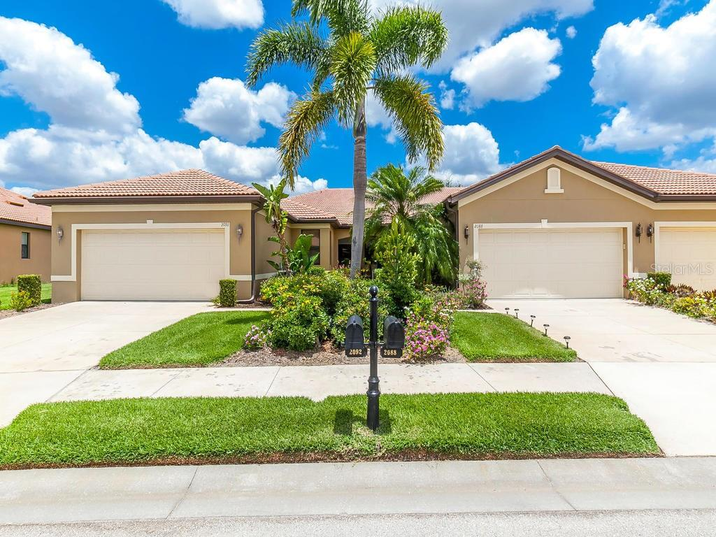 Villa for sale at 2092 Batello Dr, Venice, FL 34292 - MLS Number is A4419114