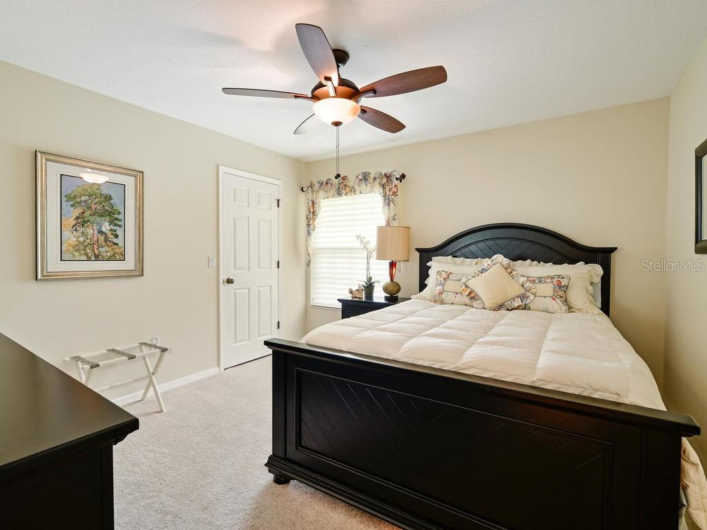 2nd bedroom is upscale and has great closet space. - Single Family Home for sale at 9902 Braden Run, Bradenton, FL 34202 - MLS Number is A4419792