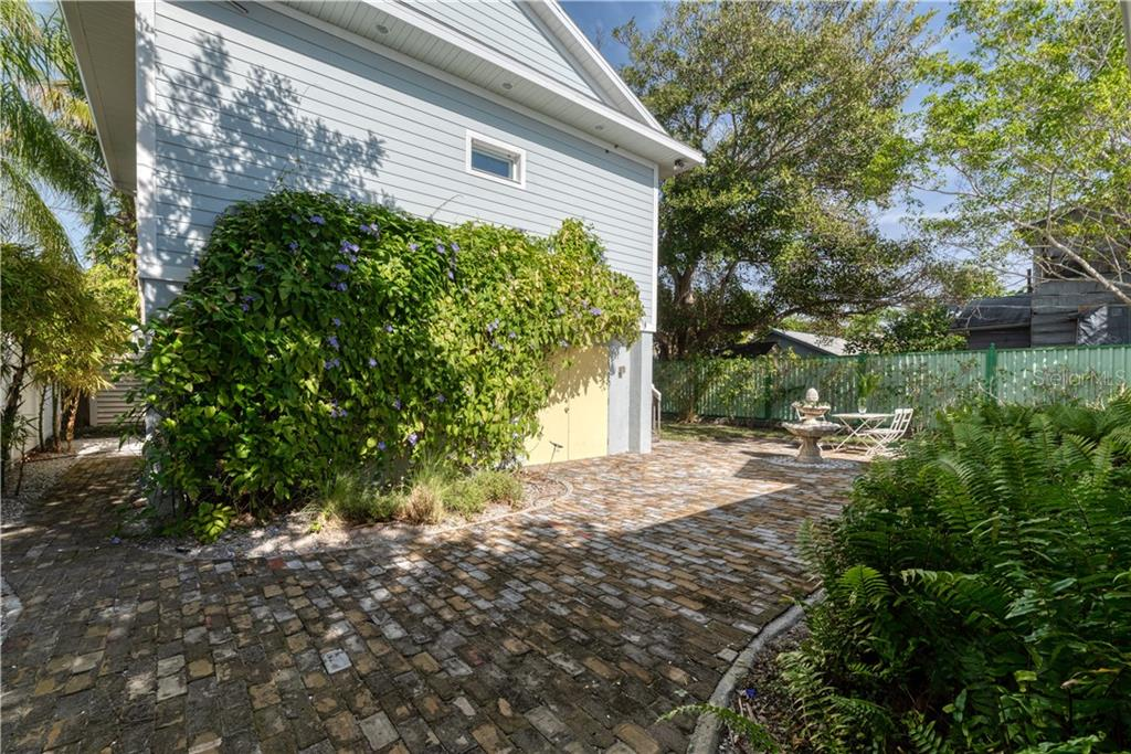 576 sq foot storage under Guest House. - Single Family Home for sale at 147 Garfield Dr, Sarasota, FL 34236 - MLS Number is A4420375