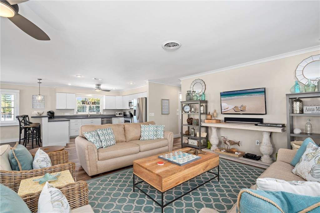 Second Floor Living Room - Single Family Home for sale at 107 Willow Ave, Anna Maria, FL 34216 - MLS Number is A4421946