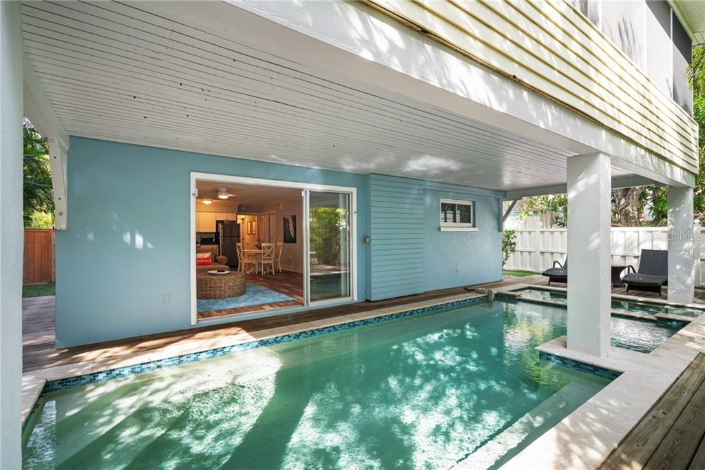 Pool and Spa - Single Family Home for sale at 107 Willow Ave, Anna Maria, FL 34216 - MLS Number is A4421946