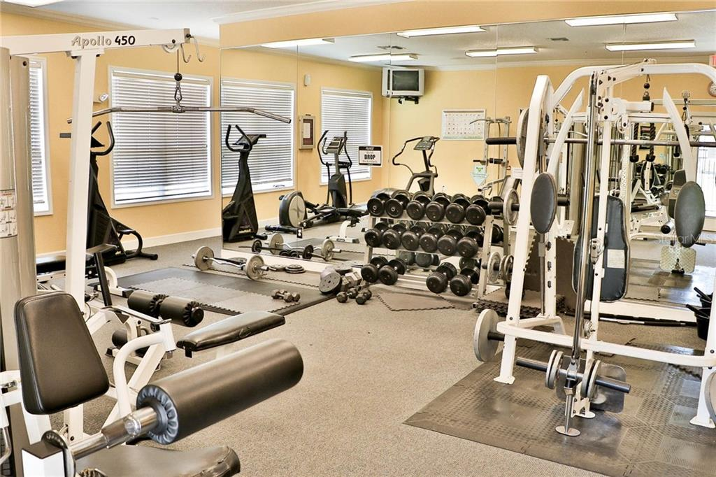Fitness Center - Condo for sale at 5511 Rosehill Rd #201, Sarasota, FL 34233 - MLS Number is A4431621