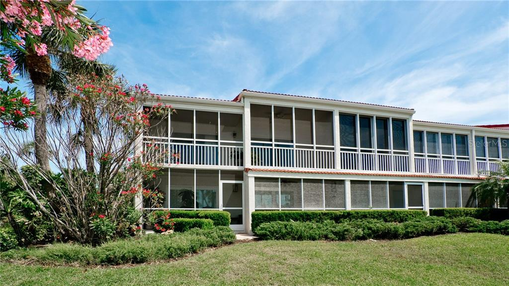 Very large lanai for this unit, screened lanai, perfect for enjoying Gulf & sunset views! - Condo for sale at 7145 Gulf Of Mexico Dr #24, Longboat Key, FL 34228 - MLS Number is A4433880