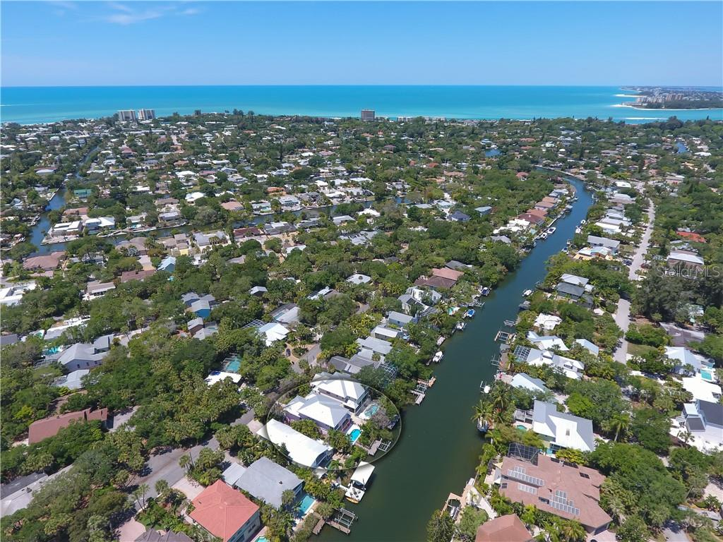 Quick boating access to the Intra-coastal Waterway. - Single Family Home for sale at 5143 Oxford Dr, Sarasota, FL 34242 - MLS Number is A4434790