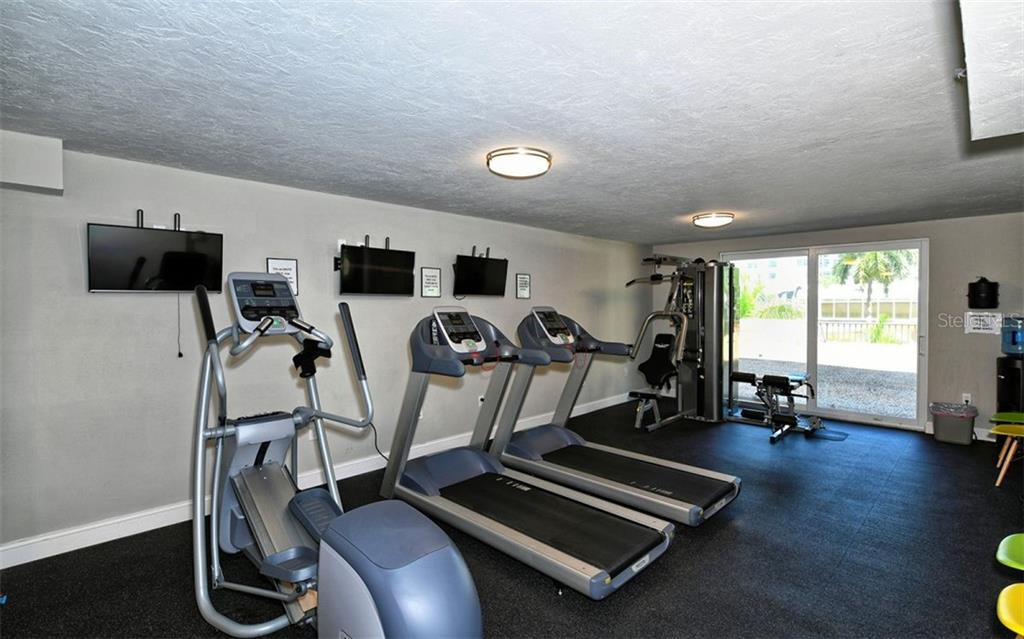 Renovated fitness room - Condo for sale at 101 S Gulfstream Ave #6d, Sarasota, FL 34236 - MLS Number is A4434802