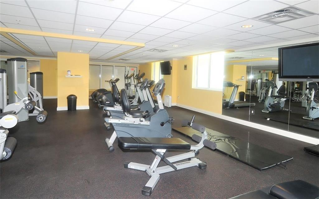 Exercise facility - Condo for sale at 800 N Tamiami Trl #602, Sarasota, FL 34236 - MLS Number is A4436915