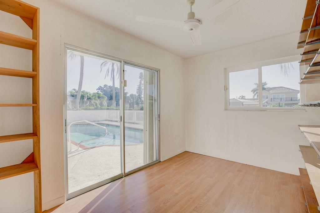Office/Study with Great Pool & Water Views - Single Family Home for sale at 523 67th St, Holmes Beach, FL 34217 - MLS Number is A4447854