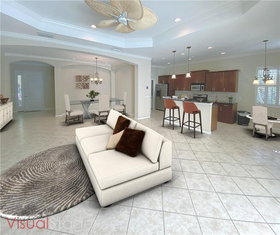 Virtually staged - Single Family Home for sale at 7288 Lismore Ct, Lakewood Ranch, FL 34202 - MLS Number is A4449934